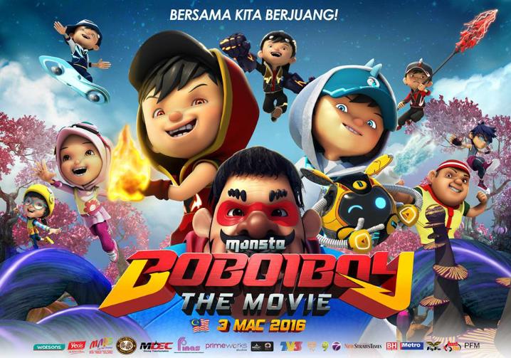 Boboiboy The Movie Dollars Bbs Films